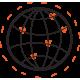 Ikon för nätverksarbete
