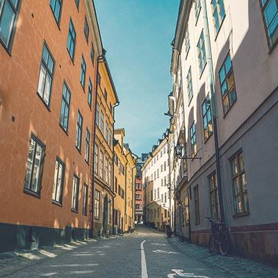 Miljöbild från Stockholm - Kontakta Mål & Vision Stockholm
