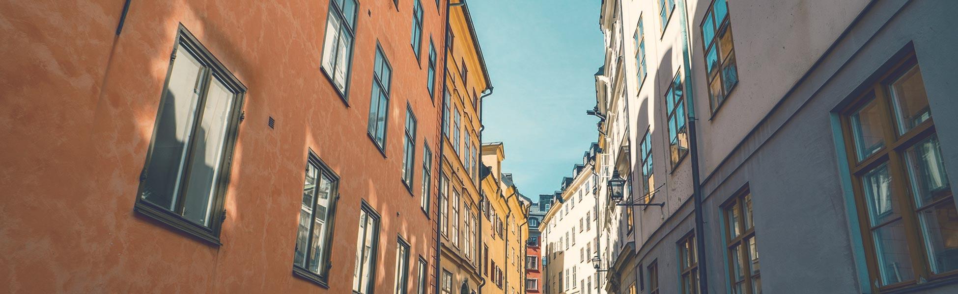 Miljöbild från Stockholm där Mål & Vision jobbar med öppenvård och boendestöd