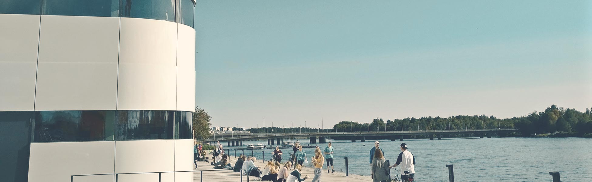 Miljöbild från Umeå där Mål & Vision jobbar med öppenvård och boendestöd